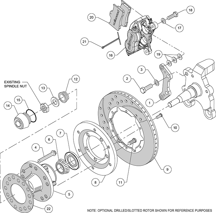 Service manual [1964 Plymouth Fury Brake Drum Structure
