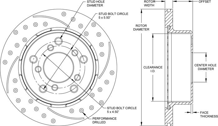 Rotor No: 160-13337-BK