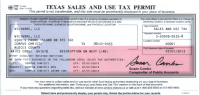 State Sales Tax: State Sales Tax Exemption Certificate
