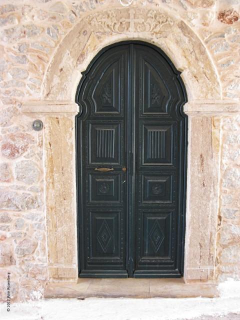 houten deur, Chios