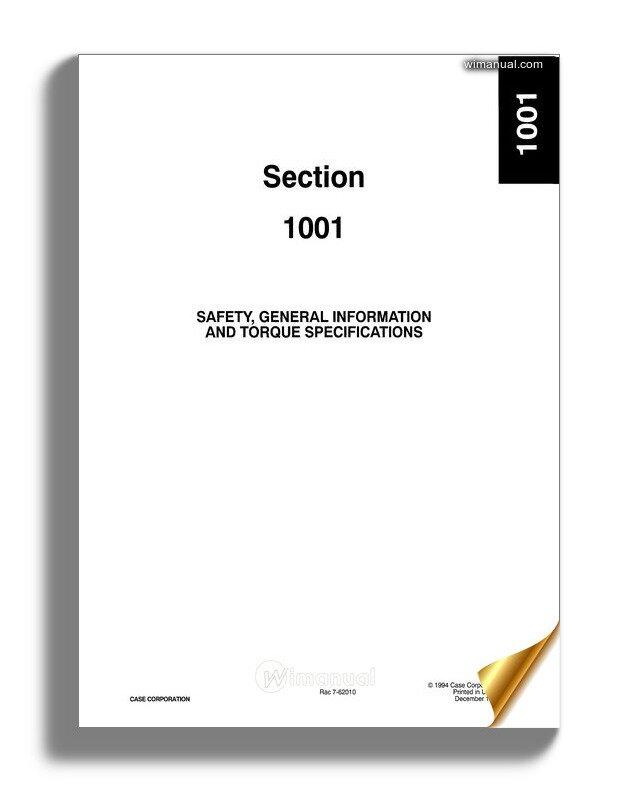 Case 621e Service Manual