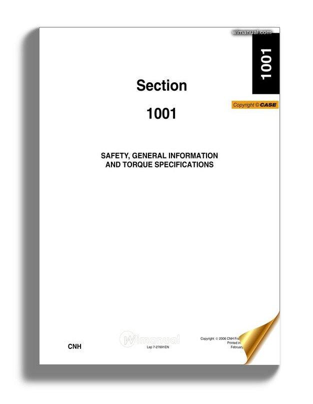 Case Cx330 Tier3 Crawler Excavator Shop Manual