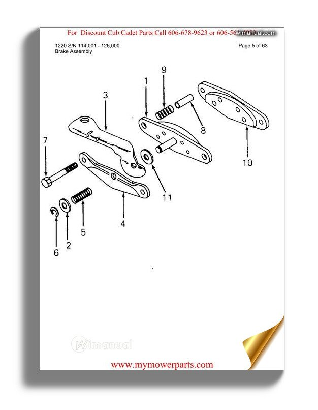 Cub Cadet Parts Manual For Model 104