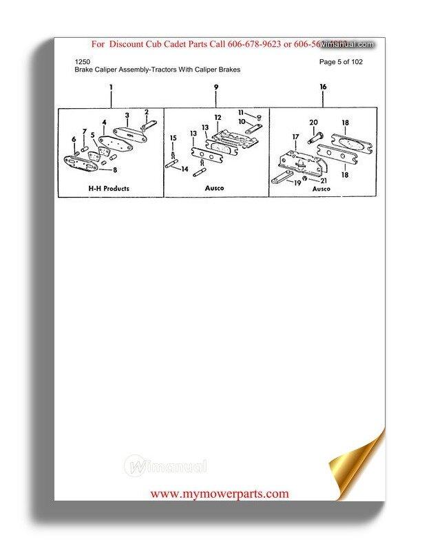 Liebherr L538 Spare Parts
