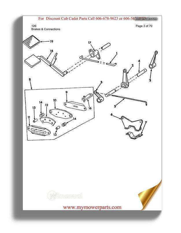 Cub Cadet Parts Manual For Model 126