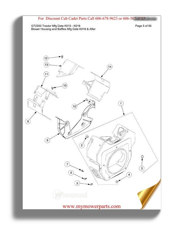 Cub Cadet Parts Manual For Model 76