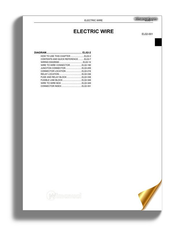 Hino Wiring Diagram All