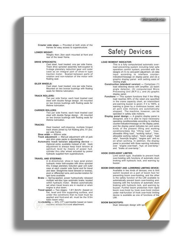 Doosan Excavator Dx140w 3 Dw160w 3 Shop Manual