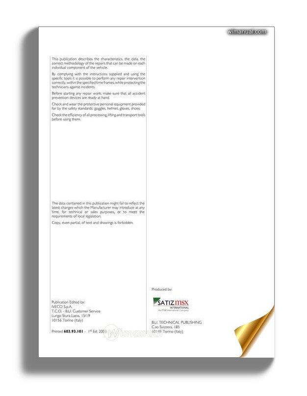 Iveco Euro Cargo Tector 6 10t Repair Manual