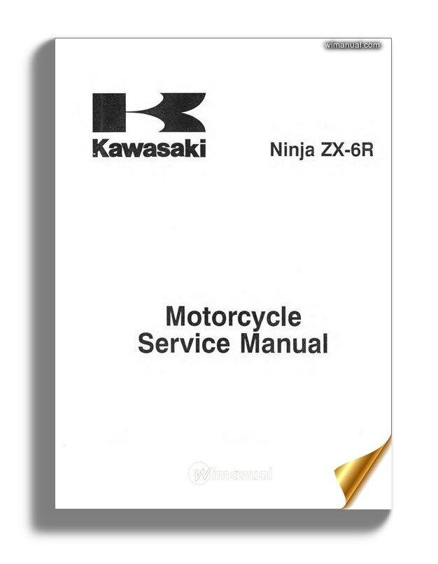 Kawasaki Ninja Zx6r 00 02 Service Manual