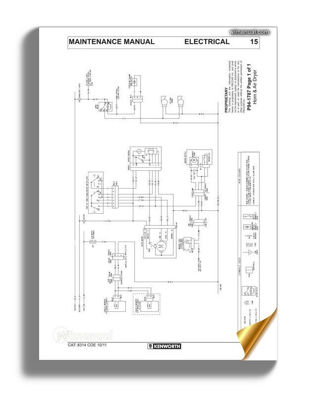 Kenworth K108 & K200 Models Electrical Wiring Diagrams