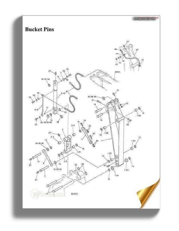 Kobelco Crawler Crane Ck2000 1f Parts Manual (S3jc00003zo01)