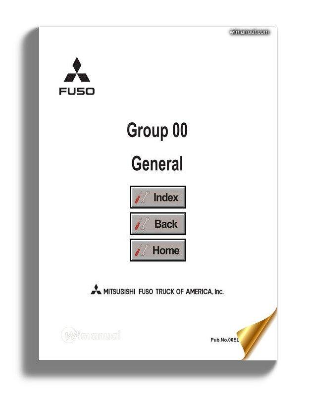 Mitsubishi Canter 2012 Service Manual