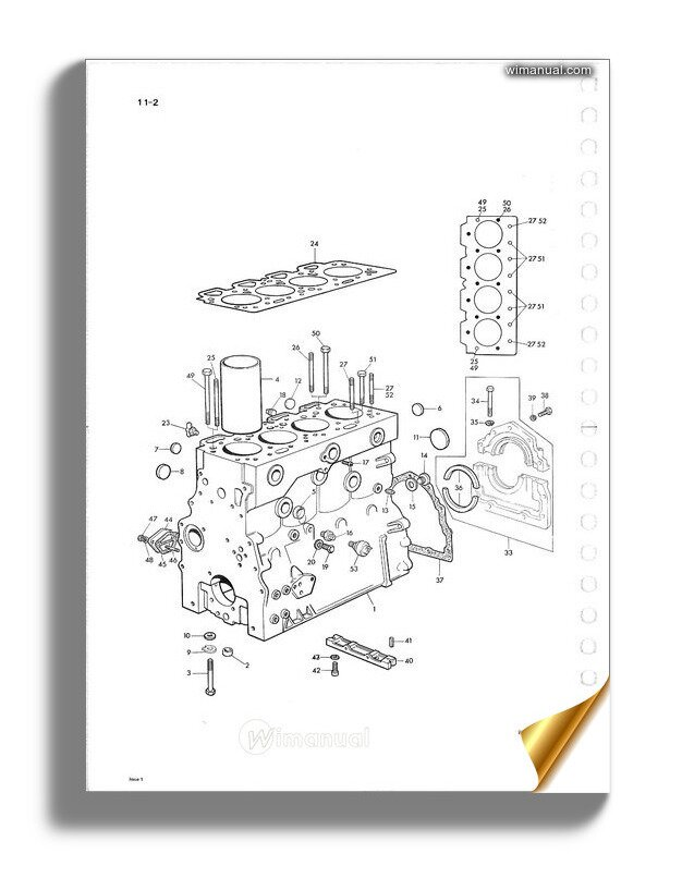 Perkins Engine 4 248