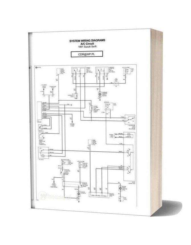 suzuki swift 1991 wiring diagrams