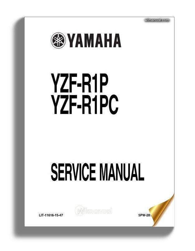 Yamaha 2002 Yzfr1 Servicemanual