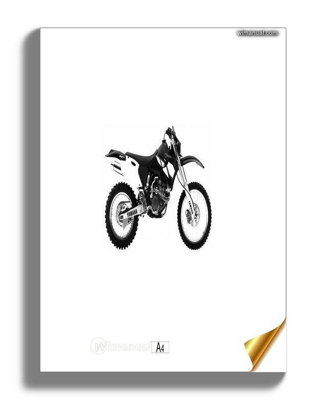 Yamaha Wr426 Parts Catalogue