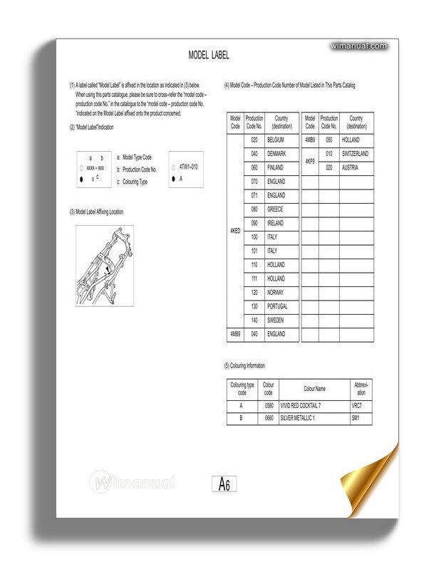 Yamaha Fazer Fzs600 2000 Supplementary Service Manual