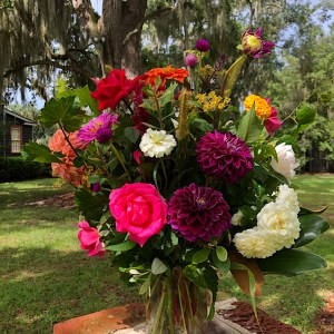 Custom flowers for delivery from Wimbee Creek Farm