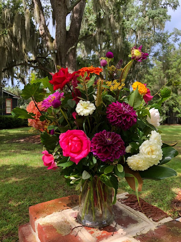 Flower delivery from Wimbee Creek Farm
