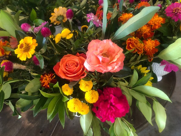 fall flower workshop beaufort sc