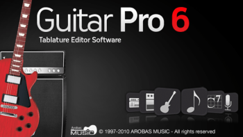 Software: Guitar Pro 6