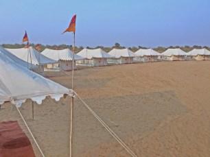Mandawa: Unsere Unterbringung im Wüstencamp