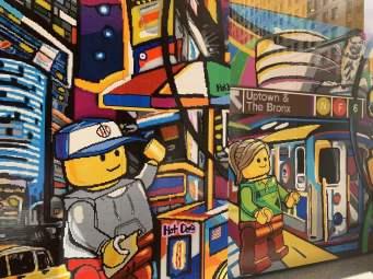 Lego am Madison Square Park