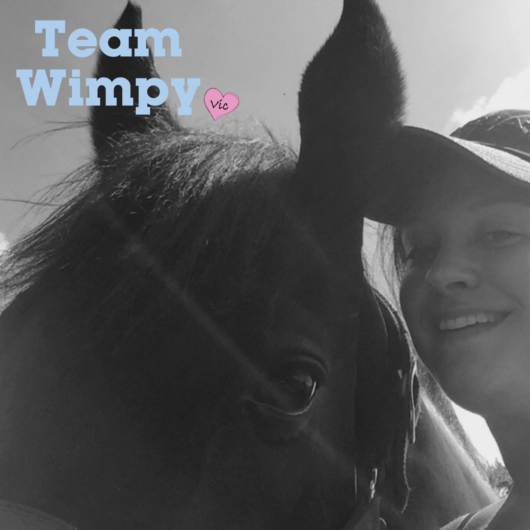 Team Wimpy Update 7: Learning to enjoy it by Amie and Raven