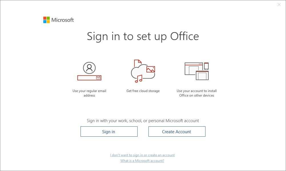 Office 365 activation and account errors – Win10 Guru