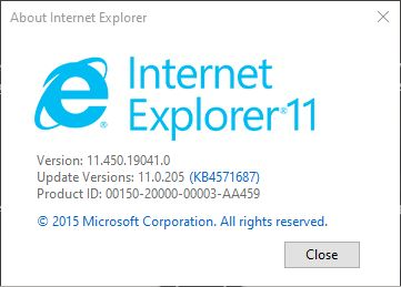 So Long IE and Legacy Edge.IEverifno