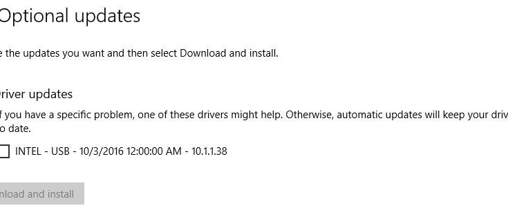 "When MS offers optional updates the best response is often a polite ""No thanks."""