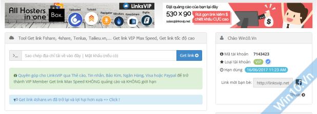 Share acc linksvip.net