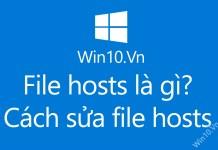 cách sửa file hosts