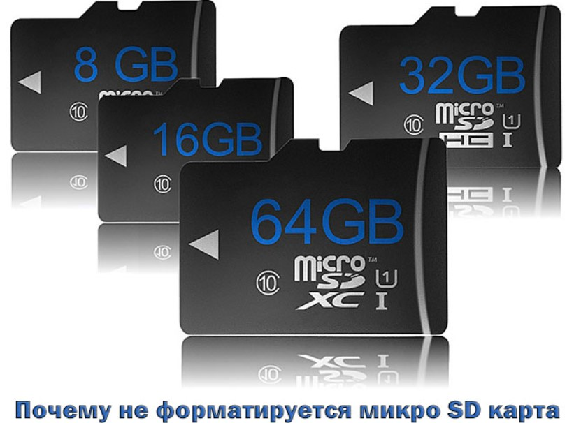 Por que o cartão Micro SD não é formatado