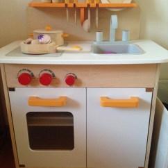 Hape Kitchen Butcher Block Islands Gourmet For Mini Master Chef Win710 S Blog Img 3023