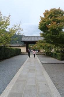The gate to Tenryuji temple