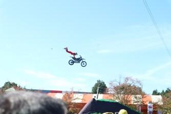 Motocross show sebelum baapan mulai