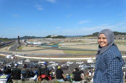 Race day view