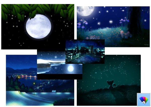 starry nights theme for