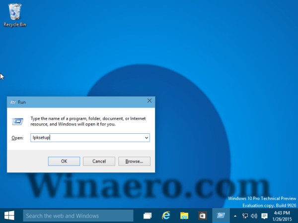 lpksetup windows 10