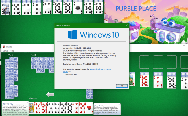 Windows 7 Games For Windows 10 Anniversary Update And