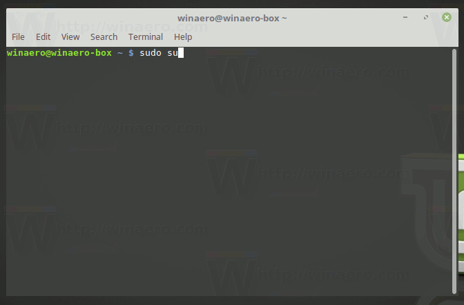 How to Open Root Terminal in Linux Mint