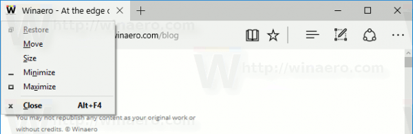 Hotkey to Make Store Apps Fullscreen in Windows 10