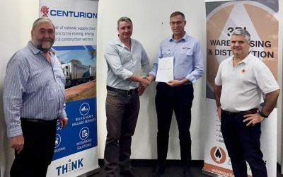 Centurion Transport and Winangali Logistics MOU Announcement