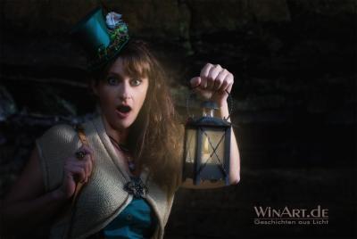 Fantasy Portrait mit Lampe - winart.de