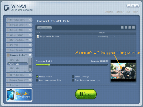 Wmv To Avi Converter  How To Convert Wmv To Avi With