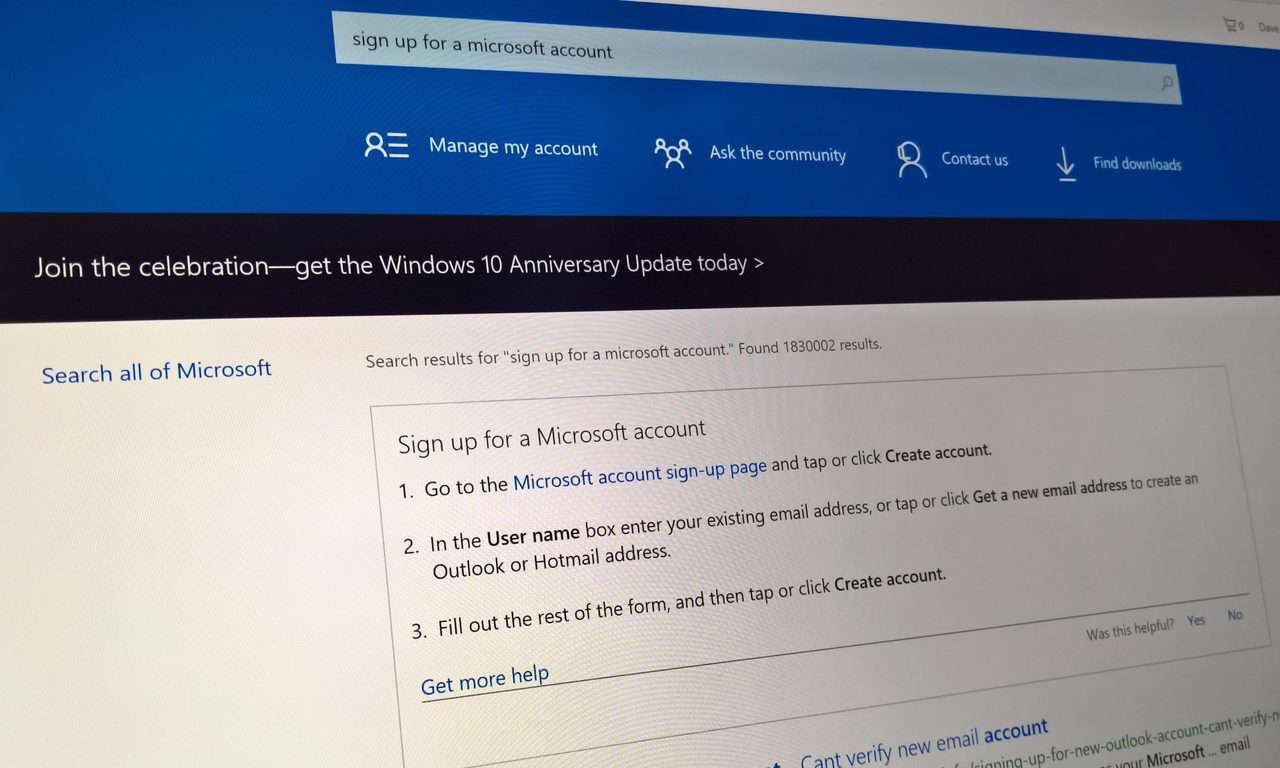 What is a Microsoft account? 47