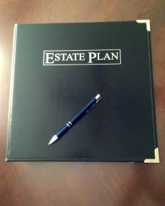 estate planning binder