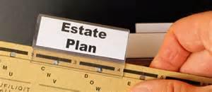 Estate plan folder